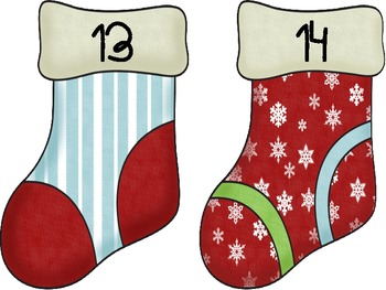 Stocking Stuffers - Sorting Game for Addition Facts to 20