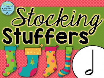 Stocking Stuffers {half note rhythm game}