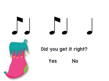 Stocking Stuffers {syncopa rhythm game}
