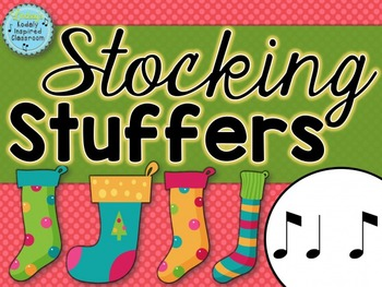 Stocking Stuffers {syncopa rhythm game}