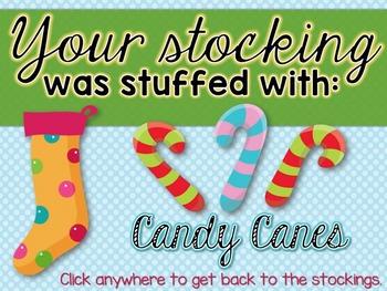 Stocking Stuffers {ta and titi rhythm game}