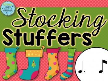 Stocking Stuffers {tam ti rhythm game}