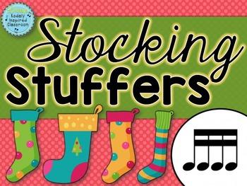 Stocking Stuffers {tiri-tiri rhythm game}
