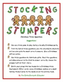 Stocking Stumpers Christmas Trivia Game