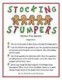 Stocking Stumpers Christmas Trivia Game