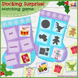 STOCKING SURPRISE - Toys Word Match Game!