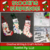 Stocking Surprises ~ Creative Christmas Writing Mini Book & Craftvity