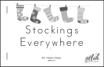 Stockings/Christmas Early Emergent Reader - BUNDLE