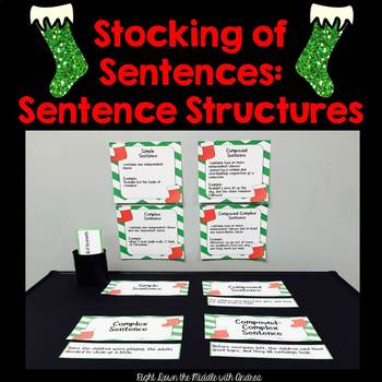 Sentence Structures {Center Activity}