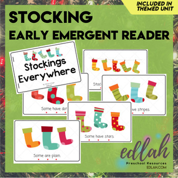 Stockings/Christmas Early Emergent Reader