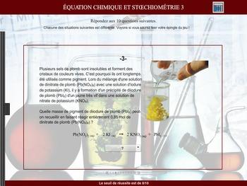 Stoechiométrie 3