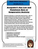 Stoichiometry Assessment: Avogadro's Gas Law and Flatulence