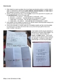 Stoichiometry: Color-coded Interactive Foldable