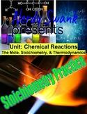 Chemistry Reactions Stoichiometry Conversion Practice Usin