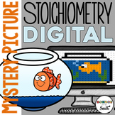 Stoichiometry Digital Hidden Mystery Picture   Distance Learning