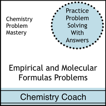 Stoichiometry: Empirical (Simplest) and Molecular Formula Problems ...