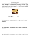 Stoichiometry, Limiting Reactant and Smores