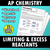 Stoichiometry - Limiting and Excess Reactants