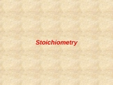 Stoichiometry - M/M, M/V, VV, and Limiting Reactants