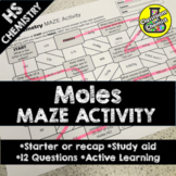 Moles Activity - Maze
