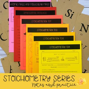 Stoichiometry Notes Series