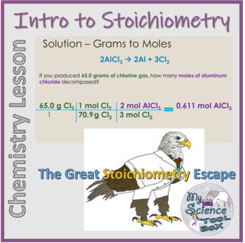 Stoichiometry Notes and Digital Escape Room