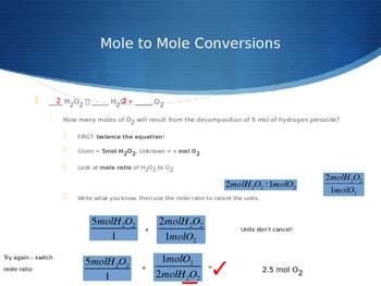 Stoichiometry PowerPoint - CHEMISTRY