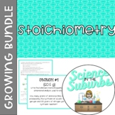 Stoichiometry Resources -- Growing Bundle!
