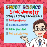 Stoichiometric Conversions Using Molar Ratios - Gram to Gr