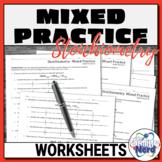 Stoichiometry Worksheets: Mass, Moles, Volume   Printable