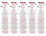 Brahm Stoker's Dracula ed. of Bookmarks Plus: Fun Freebie/Handy Reading Aid!