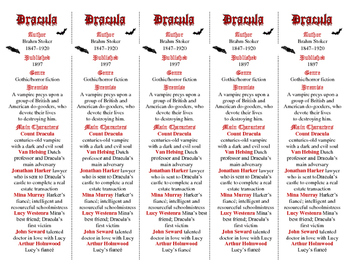 """Brahm Stoker's Dracula ed. of Bookmarks Plus: Great """"Gift"""""""