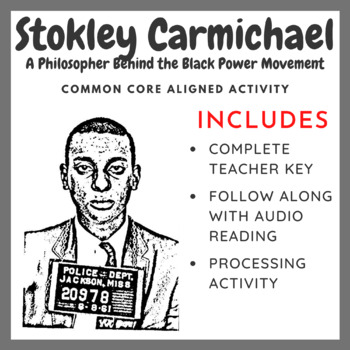 Stokley Carmichael: A Philosopher Behind the Black Power M