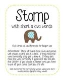 Stomp with short u cvc words