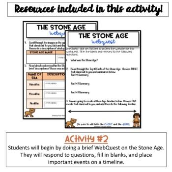 Stone Age Activity {Digital Version}