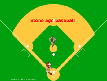 Stone Age Baseball! Fun Stone Age Review Game