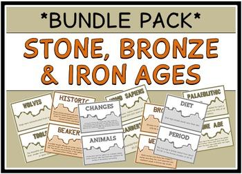 Stone Age, Bronze Age, Iron Age (BUNDLE PACK)