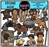 Stone Age Clip Art Bundle (Educlips Clipart)