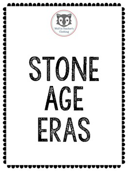 Early Humans- Stone Age Eras