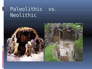 Stone Age - Paleolithic vs. Neolithic