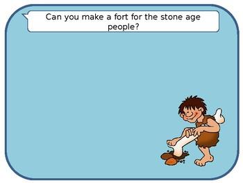 Stone Age Playdough Mats