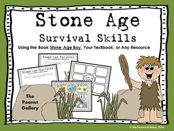 Surviving the Stone Age (Note Taking/Poster Activity)