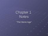 Stone Age Unit Power Point