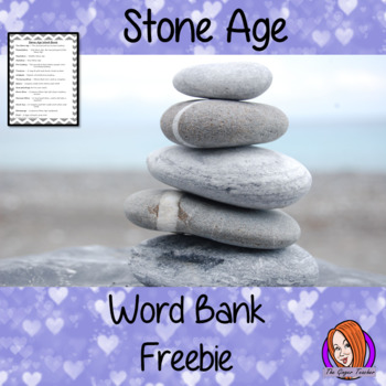 Stone Age Word Bank