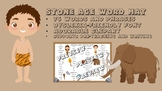 Stone Age Word Mat