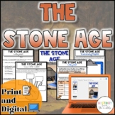 Stone Age Activity {Digital AND Paper} Distance Learning