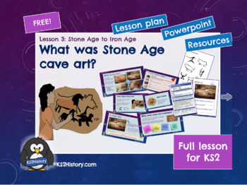Stone Age to Iron Age Lesson 2: Stone Age Cave Art