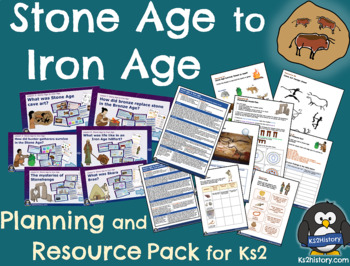 Prehistoric Britain (Stone Age to Iron Age) Unit Pack