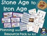 Stone Age to Iron Age (Prehistoric Britain) Unit Pack
