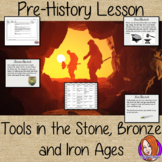 Stone Age to Iron Age tools lesson, Pre-history, Scavenger